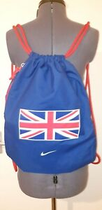 Official Great Britain Nike Athletics Track And Field Drawstring Bag