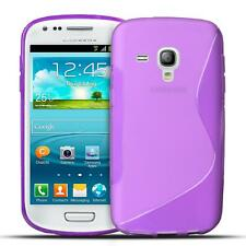 Handy Hülle Samsung Galaxy S3 Mini Schutz Case Silikon Cover Tasche Schutzhülle