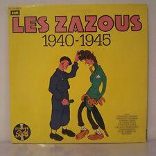 """Various–Les Zazous : 1940-1945 (2 x Vinyl 12"""" LP Compilation Gatefold)"""