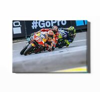 VALENTINO ROSSI SUPERBIKE MOTORBIKE NEW ART PRINT POSTER YF1427