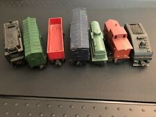 Lionel & Marx Train Lot New York Central All State Motor Oil Chessie 7 Car Set
