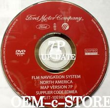 7P Update 2007 2008 Ford EDGE F-150 Expedition XLT & Limited Navigation DVD Map