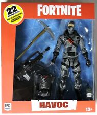 S094. Fortnite HAVOC Action Figure w/ Accessories by McFarlane Toys NIB (2019)