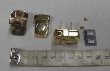 Hochwertiges Steckschloß, klein Farbe gold #3045#