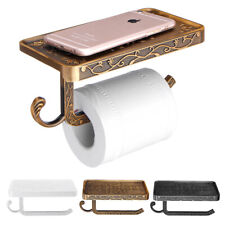 AU Wall Mounted Toilet Roll Tissue Paper Shelf Holder Stand Phone Shelf