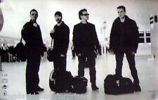 U2 22x34 Group W/ Luggage Music Poster Beautiful Day