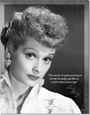 I Love Lucy Inspirational Quote Retro 1950's TV Show Wall Decor Metal Tin Sign