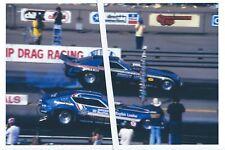 "1970s NHRA Drag Racing-""Blue Max"" vs ""LITTLE HOSS""-Ontario Motor Speedway"