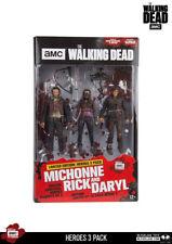 Rick Daryl Michonne Heroes 3-Pack The Walking Dead AMC TV Action Figur McFarlane