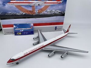 McDonnell Douglas DC-8-63 Air Canada Cargo InFlight 1:200 Scale Model, 1 of 120!