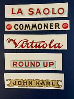 5 Vintage Cigar Labels La Paolo Commoner Virtuola Round Up John Karl