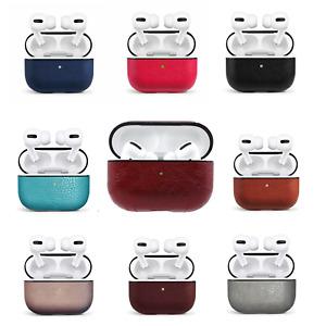 Apple Airpod Pro CASE Leather Skin Shockproof Cover Bluetooth Earpod Precise Cut