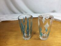 2 (two) MCM 8 Ounce Drinking Glasses
