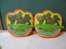 Teenage mutant ninja turtles Cawabunga catch 1991 by remco toys orange yellow