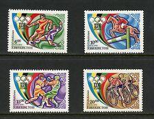 Uzbekistan 1996  #114-7  olympics boxing cycling equestrian soccer 4v. MNH  J275