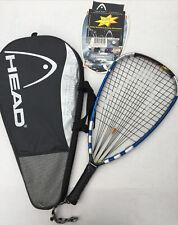 Head Liquidmetal 190 Megablast Racquetball Racket W/ Cover 3-5/8 Grip Size Nice