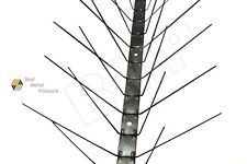 BIRD PIGEON SPIKES STAINLESS STEEL REPELLENT PEST COYOTES BOB CATS 3ft. 0400104