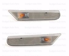 Porsche 911 (986, 996) Boxster Clear Smoked Side Marker Lights Left & Right