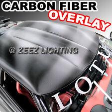 Carbon Fiber Moon Roof Hood Trunk Overlay Tint Vinyl Wrap Cover Film 50 x 60 C00
