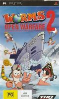 Psp Game - Worms - Open Warfare 2