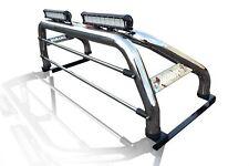 To Fit 10-16 Volkswagen Amarok Roll Bar + Light Bar x2 + LED x2 + Brake Light x1