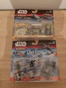 Star Wars Micro Machines Hasbro Bundle Of 2 Sets
