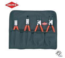 KNIPEX Sicherungsringzangensatz 4tlg. in Rolltasche # 00 19 56