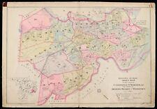 MA SPY POND COPY ATLAS MAP 24x36 ARLINGTON CAMBRIDGE 1900 MIDDLESEX COUNTY