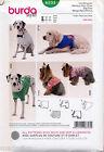 BURDA SEWING PATTERN 6753 EASY DOG COATS IN THREE SIZES S-M-L & FIVE STYLES