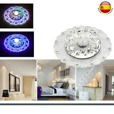 Lámpara de Techo Colgante LED Cristal Salón Luces De Pasillo Dormitorio 3W