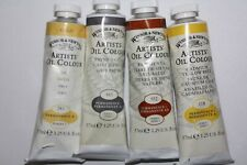 4 Winsor & Newton Oil Paint's-from England-37ml-Series 1,2&4-Vintage Variety Set