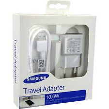 100% Original Samsung Charger Travel Adapter 10.6W with Micro USB
