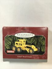 Tonka Road Grader 1998 Hallmark Keepsake Ornament Die Cast Metal NIB