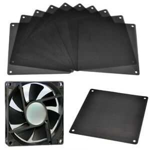120mm Width Computer PC Dustproof Cooler Fan Custom Mesh. Dust Cover Case T4O3