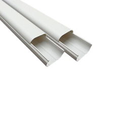 2m Long PVC Duct Pipe Air Conditioner Wall Cover 100x2000mm