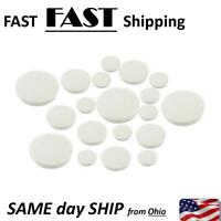 17pcs Clarinet Leather Pads Replacement for Exquisite Wind Instrument FAST SHIP