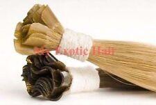 "18"" Long Straight Remy Fusion Nail Tip Utip Human Hair Extensions 50g 100 PCS"