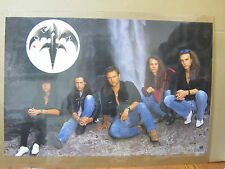 Vintage 1991 Queensryche heavy metal band poster   5149