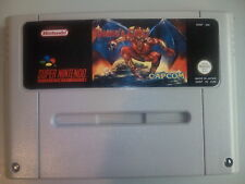 Demon's Crest Castellano super nintendo snes