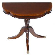 NSI151, Niagara Furniture, Large Duncan Phyfe Console , Mahogany Table