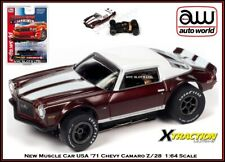 Auto World '71 Chevy Camaro Z/28 Muscle Car USA Rel. 30 Also Fits AW, AFX, JL