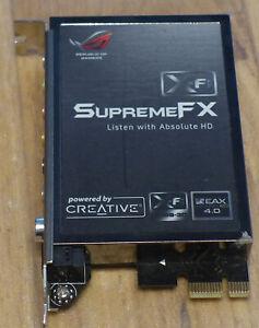 asus creative supreme fx pci-e sound card ROG Rampage 2