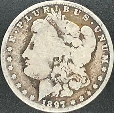 1897-O Morgan Silver Dollar 90% Silver Estate Find Coin Rare *Semi-Key Date*