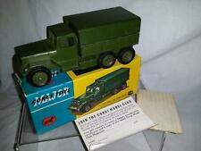 CORGI 1118 INTERNATIONAL 6 X 6 ARMY TRUCK IN VERY GOOD ORIGINAL BOXED CONDITION