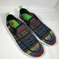 Sanuk Chiba Quest Knit Unisex Sneaker With Synthetic Sole Mens 11 Womens 12