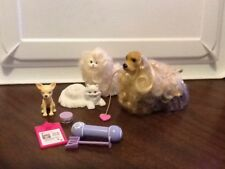Barbie Dogs Cats Animals & Accessories Lot