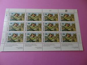 MH Marshall Isl * SC 510 * WWII * US/USSR Link Elbe River * MNH * Sheet 12 * W92