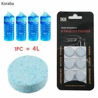 Windshield Wiper Fluid Concentrate Disolve Pellets for Windscreen Cleaning
