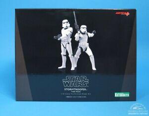 Star Wars Kotobukiya Artfx+ Stormtrooper Two Pack 1/10 scale pré-painted model