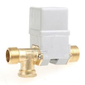 """Electric Solenoid Valve for Water Air N/C 12V DC 1/2"""""""